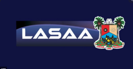 LASAA Partial Vehicle branding
