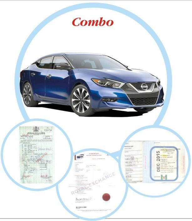 Abuja Car Renewal (Vehicle License + Insurance + Road Worthiness)