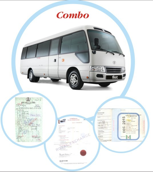 Combo Bus/Pickup Renewal (Vehicle License + Insurance + Road Worthiness)