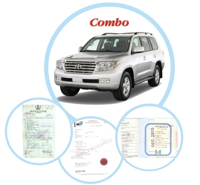 Combo SUV Renewal (Vehicle License + Insurance + Road Worthiness)